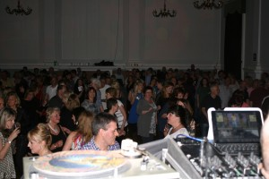 A DJ view of the crowd