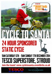 Cycle To Santa poster (1)