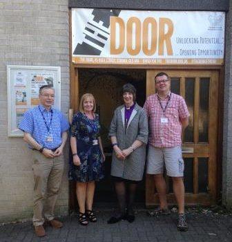 Bishop Rachel Visits The Door