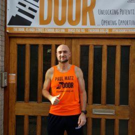 Run Paul run! Marathon Update