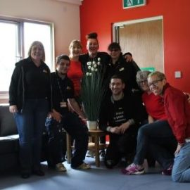 Marks and Spencers Volunteers Redecorate The Pod