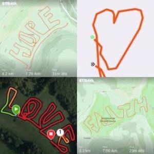 Running Maps 100kinmay